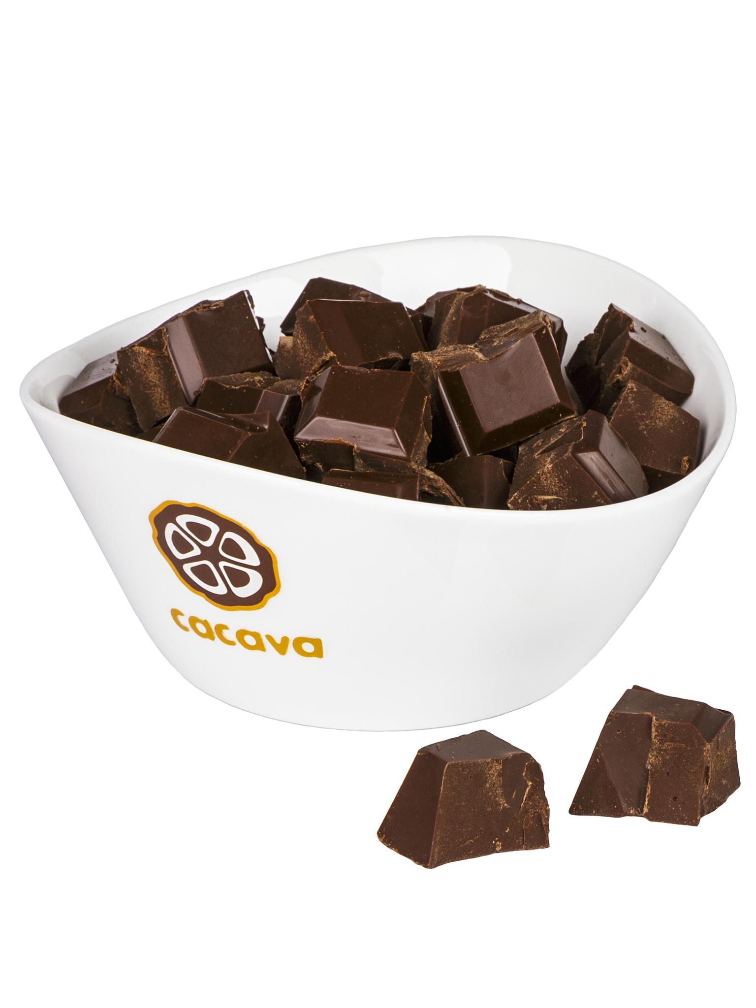 Молочный шоколад, карамелизированный, 50 % какао (Эквадор), внешний вид