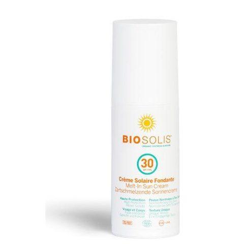 BIOSOLIS Деликатный солнцезащитный крем-пенка SPF30 100 мл