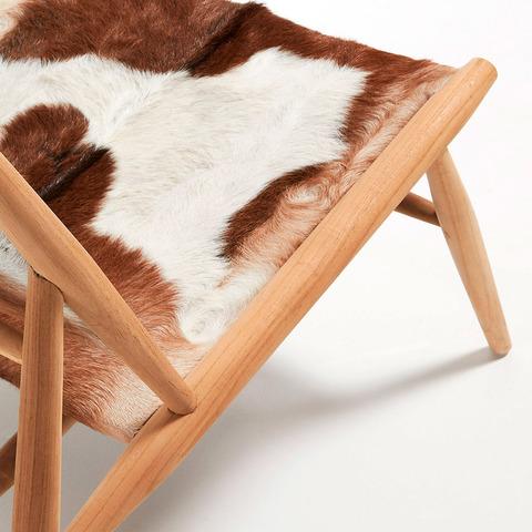 Кресло Ike из тикового дерева
