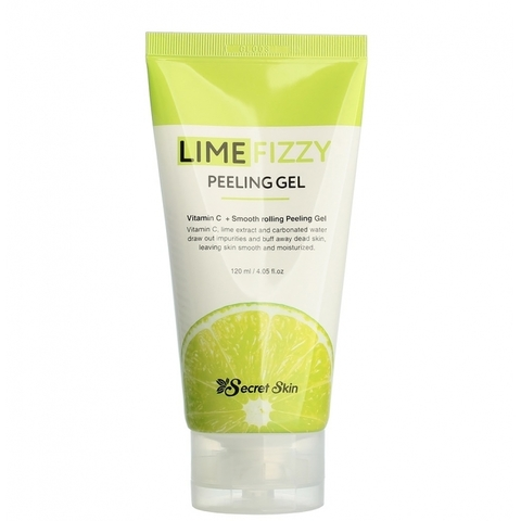 Гель-скатка SECRETSKIN LIME FIZZY PEELING GEL