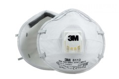 Респиратор 3M™ 8112 противоаэрозольный FFP1 с клапаном выдоха