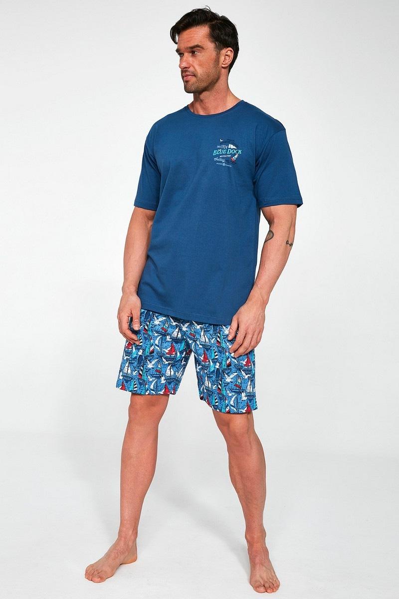 Пижама мужская с  шортами CORNETTE BLUE DOCK 2