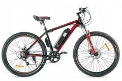 Электровелосипед Eltreco XT 600 D (2021) Черно-красный
