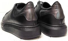 Женские кеды кроссовки на высокой подошве EVA collection 0721 All Black.
