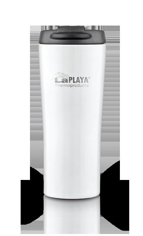 Термокружка LaPlaya Vacuum Travel Mug (0,4 литра), белая