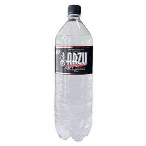Вода ARZU LIFE FITNESS газ 1,5 л пл/б Riks КАЗАХСТАН