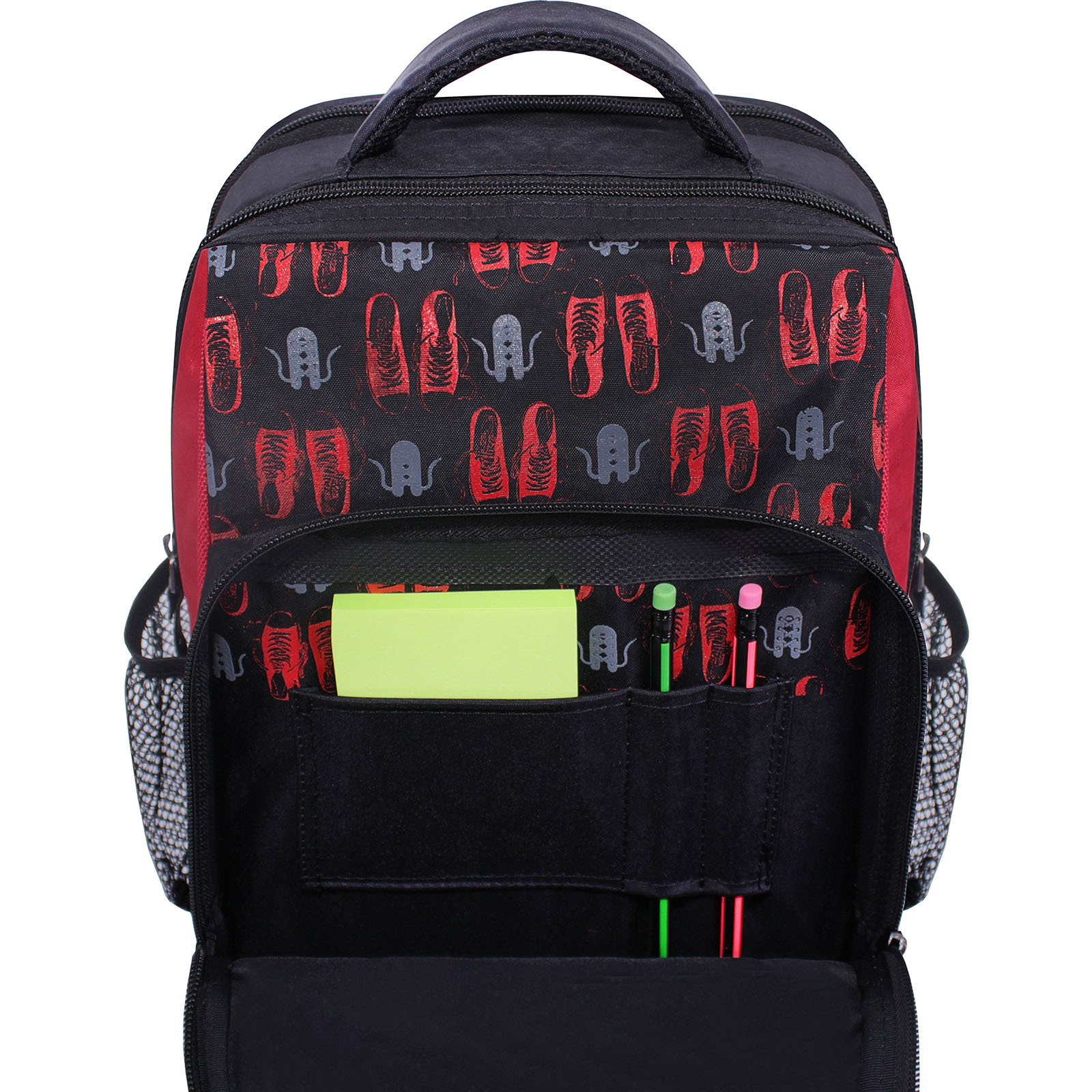 Рюкзак школьный Bagland Школьник 8 л. черный 609 (0012870) фото 4