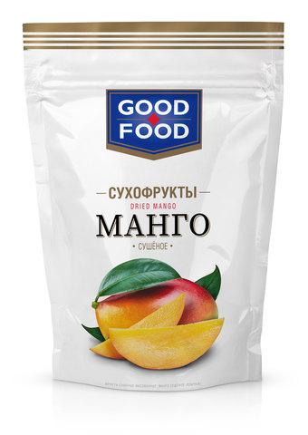 GOOD FOOD Манго сушеное 110 г