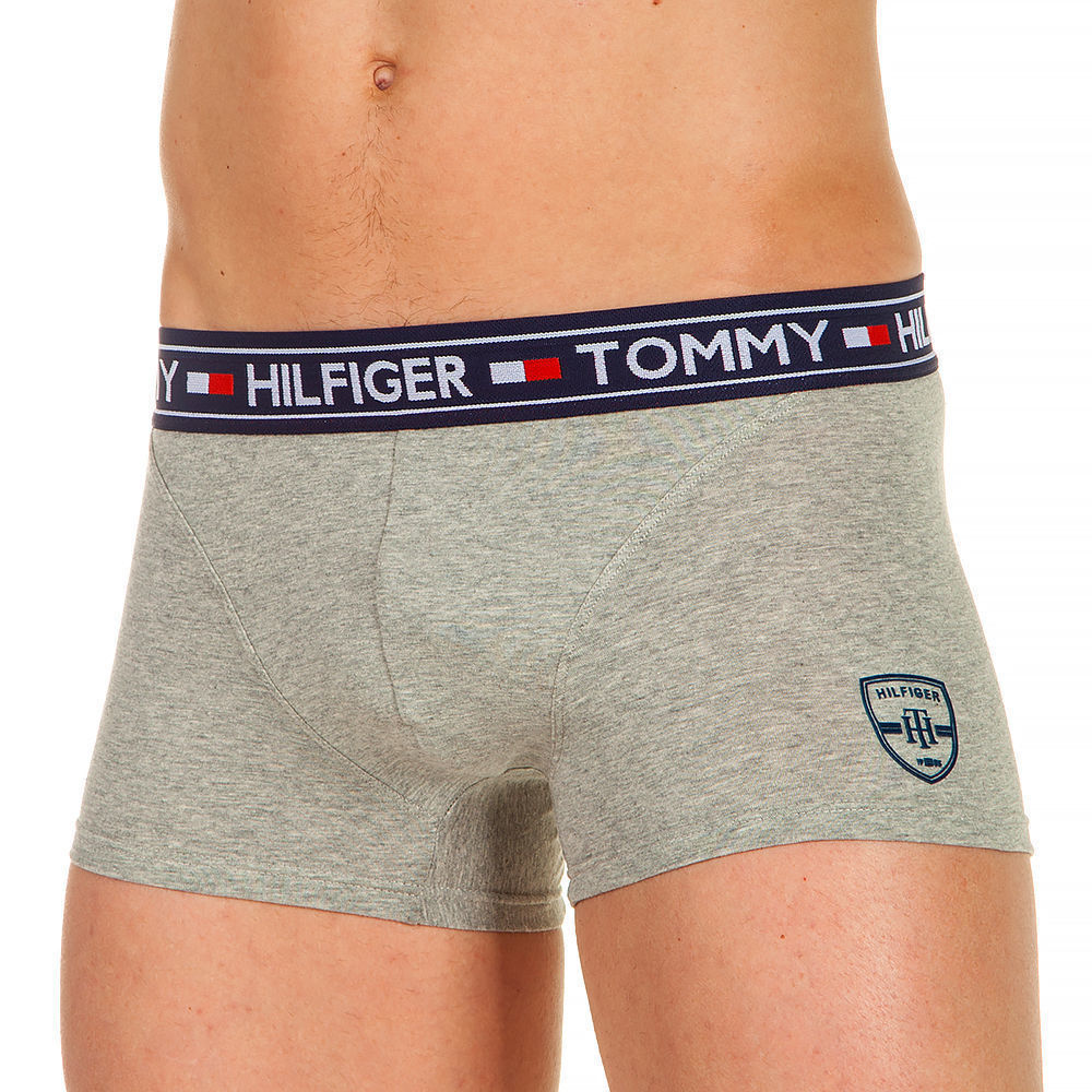 Трусы мужские хипсы серые Tommy Hilfiger