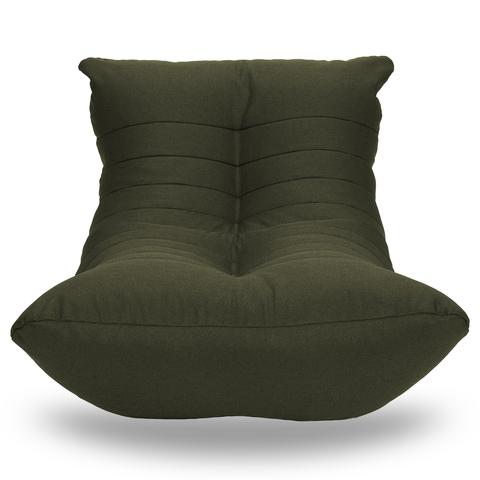 Бескаркасный лежак «Кокон», Хвойный