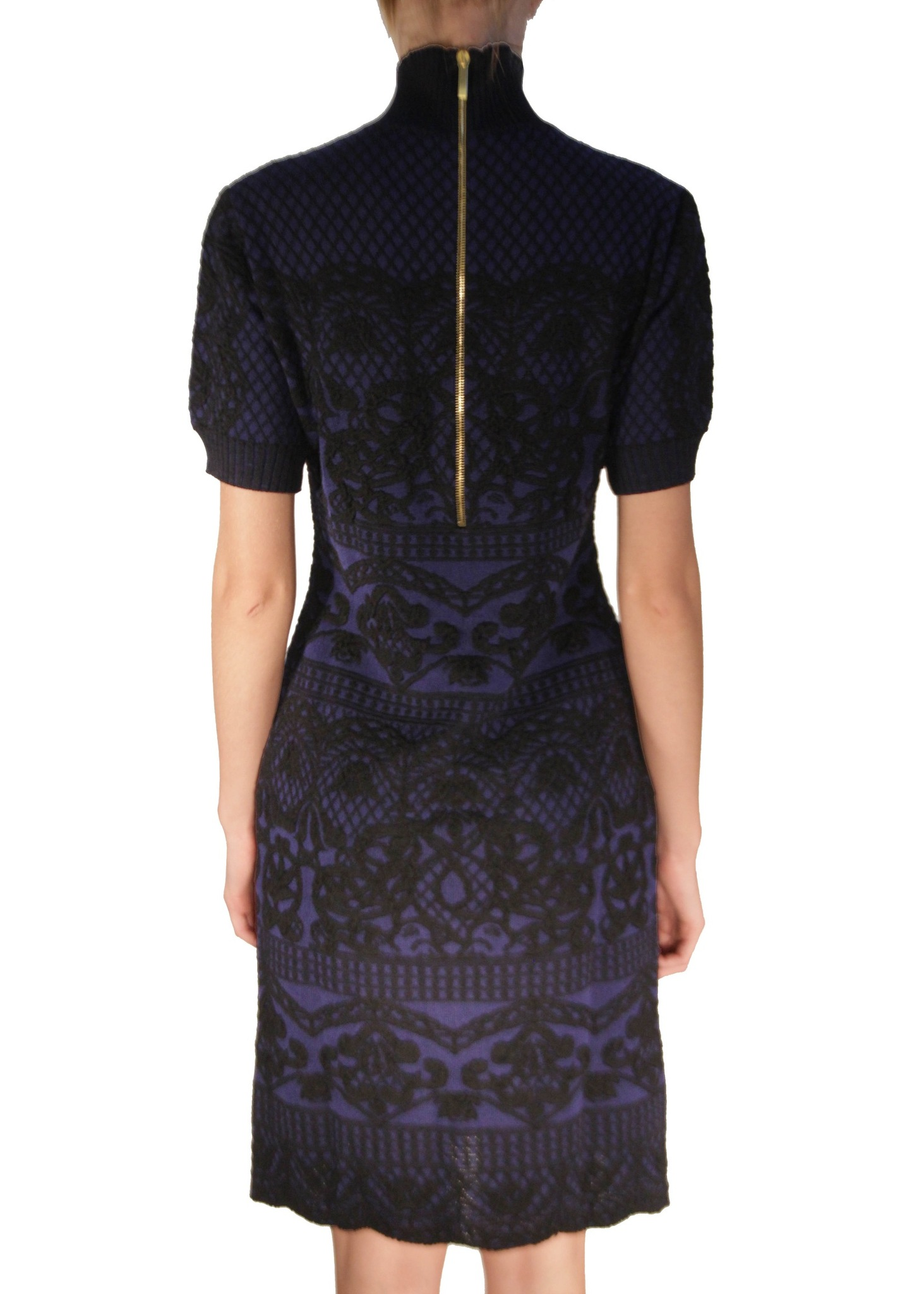 Платье из шерсти ALBERTA FERRETTI