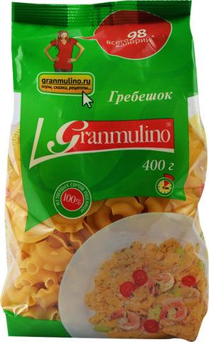 Макаронные изделия  Granmulino  гребешок 400г
