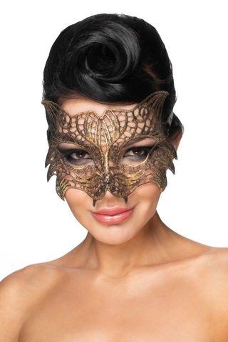 Золотистая карнавальная маска  Регул