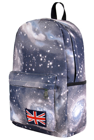 Рюкзак космос серый фото 1