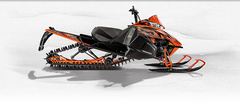 Снегоход Arctic cat M 8000 153 Sno Pro orange фото