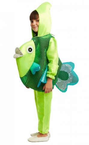Костюм Рыбка зелёная 1