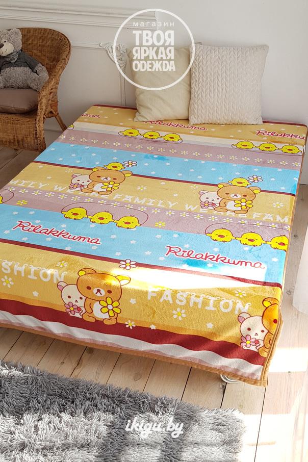 """Мягкие игрушки и подушки Плед """"Рилаккума"""" panda2.jpg"""