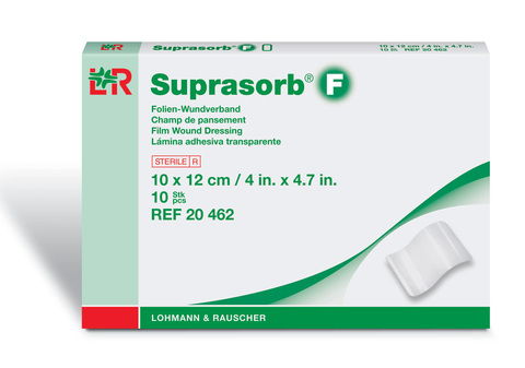 Suprasorb F Супрасорб Ф пленочная прозрачная повязка