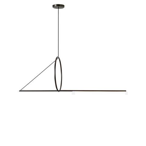Подвесной светильник копия Cercle et trait by CVL Luminaires L120