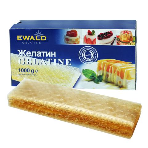 Листовой желатин EWALD, 200шт(1кг)