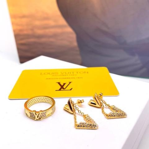 Louis Vuitton Серьги и Кольцо