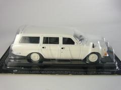 GAZ-24-12 Volga white 1:43 DeAgostini Auto Legends USSR #150