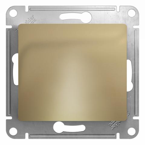 Вывод кабеля. Цвет Титан. Schneider Electric Glossa. GSL000499