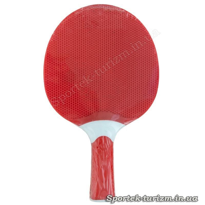 Вид на ракетку для настольного тенниса Atemi Plastik Universal