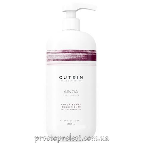 Cutrin Ainoa Color Boost Conditioner - Кондиціонер для збереження кольору фарбованого волосся