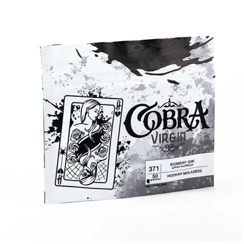 Кальянная смесь Cobra VIRGIN 50 г Джин Бомбей (Bombay Gin)