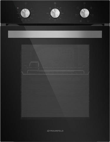Духовой шкаф Электрический Maunfeld EOEC516B черный/серебристый