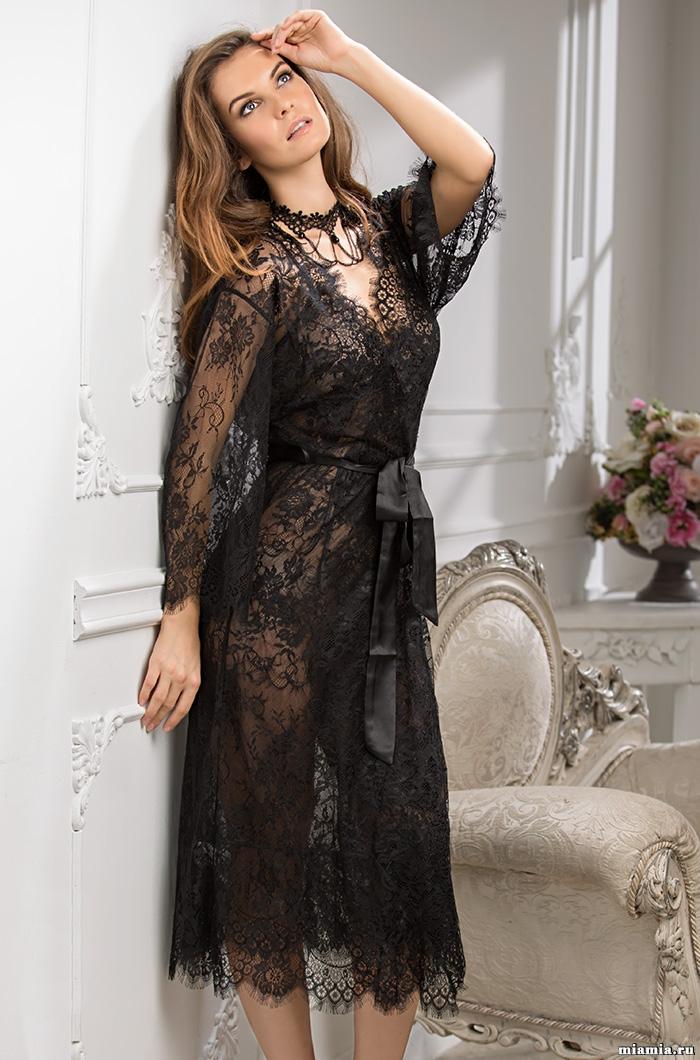 Эротическое белье Халат женский из кружева MIA-MIA  Шанель  2033 2033_new.jpg