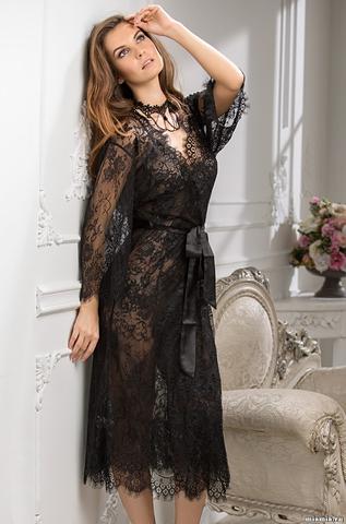 Халат женский из кружева MIA-MIA  Шанель  2033