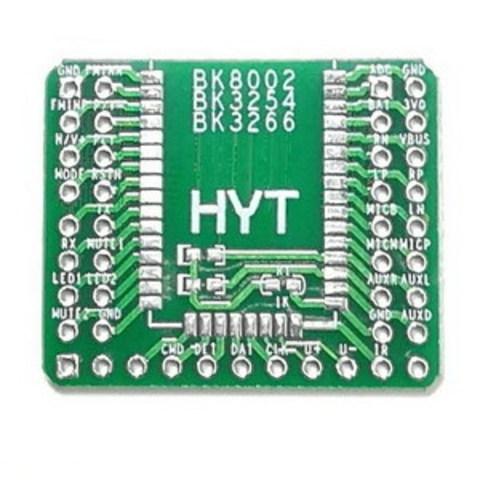 Макетная плата-адаптер для Bluetooth аудио модуля BK8000L