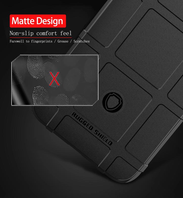 Чехол на Google Pixel 4 XL цвет Black (черный), серия Armor от Caseport
