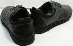 Кожаные мужские мокасины туфли спортивные Ridge Z-430 75-80Gray.