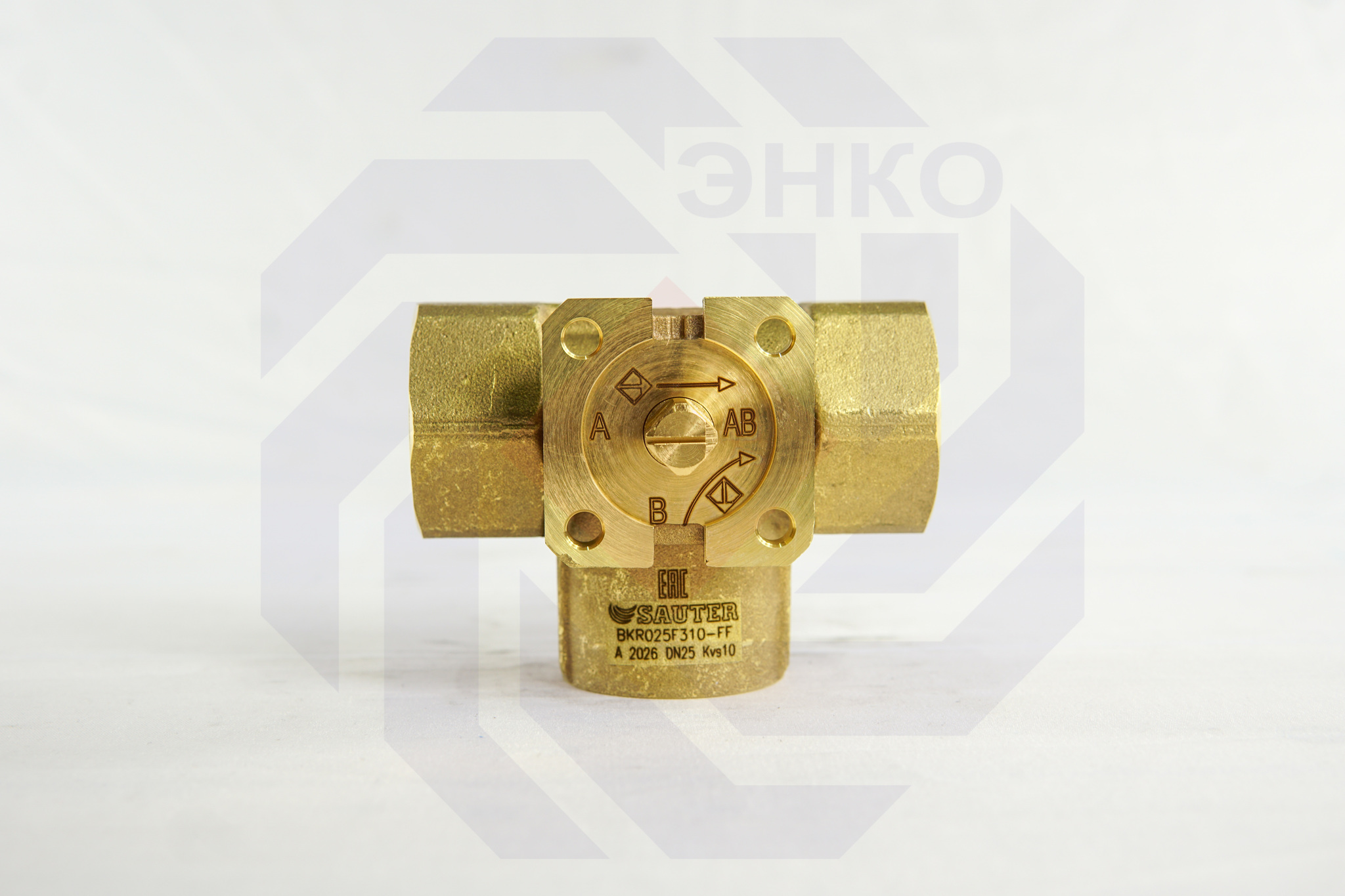 Клапан шаровой регулирующий SAUTER BKR DN 25