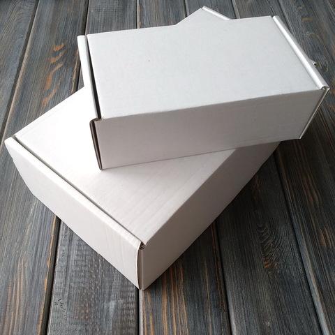 Коробка с ушками белая, мгк