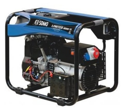 Кожух для бензинового генератора SDMO Limited Edition 8000 TE XL C (5800 Вт)