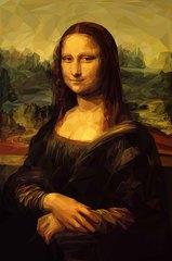 Kətan Tablo / Картина - Mona Liza