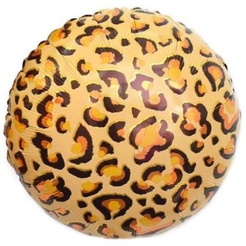 Шар круг Пятна леопарда, анималистика, 45 см