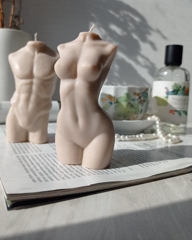 Свеча WOMAN 10cm / Beige