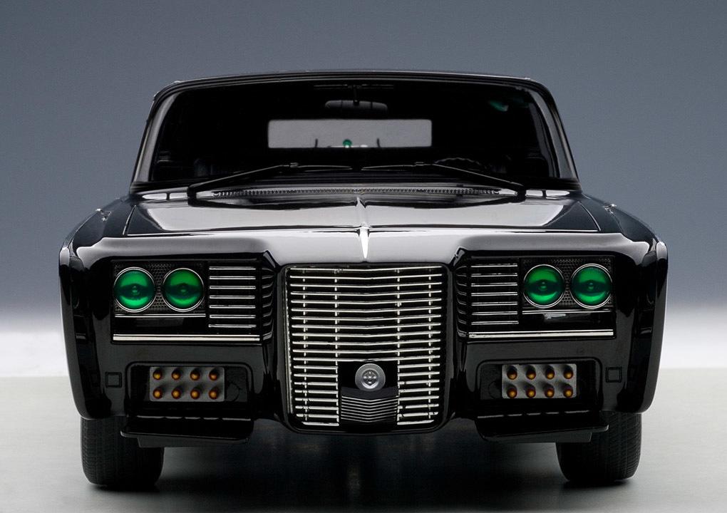 Коллекционная модель Chrysler Imperial Black Beauty Green Hornet 1966-1967 Black
