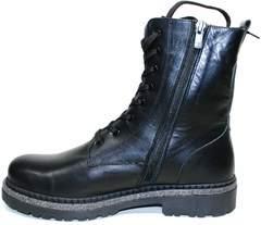 Кожаные зимние ботинки женские Vivo Antistres Lena 603
