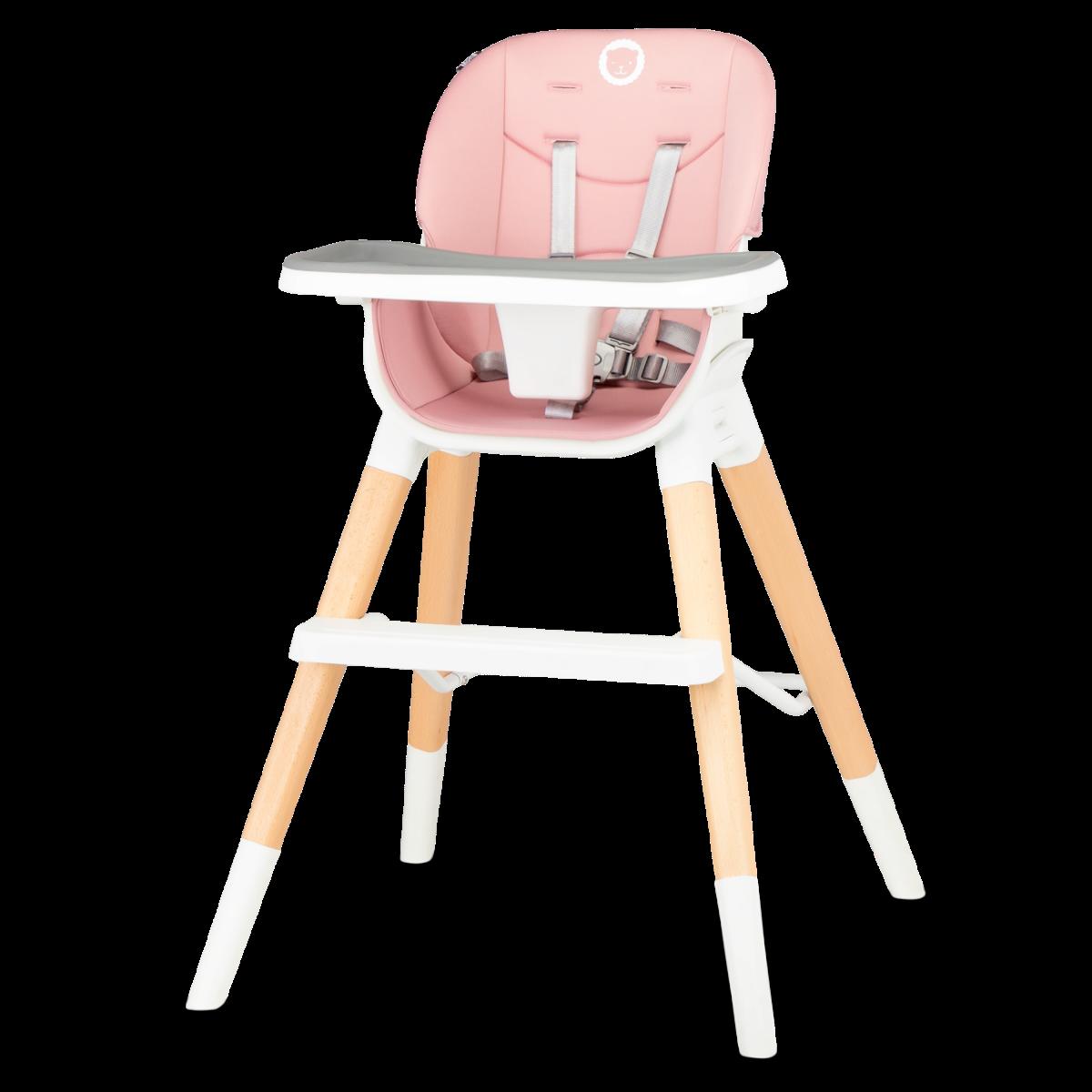Стульчик для кормления Lionelo Mona Bubblegum