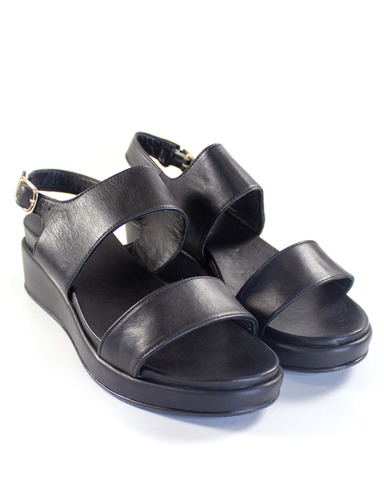 черные сандалии SM
