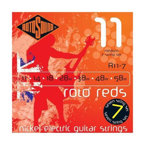 ROTOSOUND R11-7 STRINGS NICKEL MEDIUM Струны для 7-струнной электрогитары