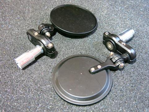 Зеркала в руль Honda Yamaha Kawasaki Suzuki тюнинговые универсальные