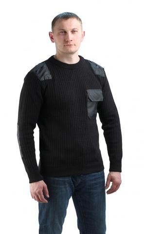 Купить черный форменный свитер - Магазин тельняшек.ру 8-800-700-93-18