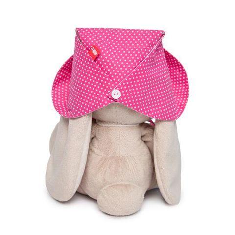 Зайка Ми в розовой панамке и с бантиком